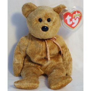 035c580a851 Image for Ty Beanie Babies - Cashew the Bear
