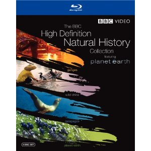 Image for The BBC High Definition Natural History Collection (Planet Earth / Wild China / Galapagos / Ganges) [Blu-ray]
