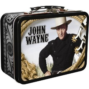 Image for John Wayne DVDs in Collectable Tin with Handle