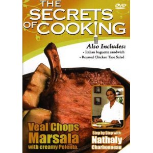 Image for Secrets of Cooking-Veal Chops Marsala